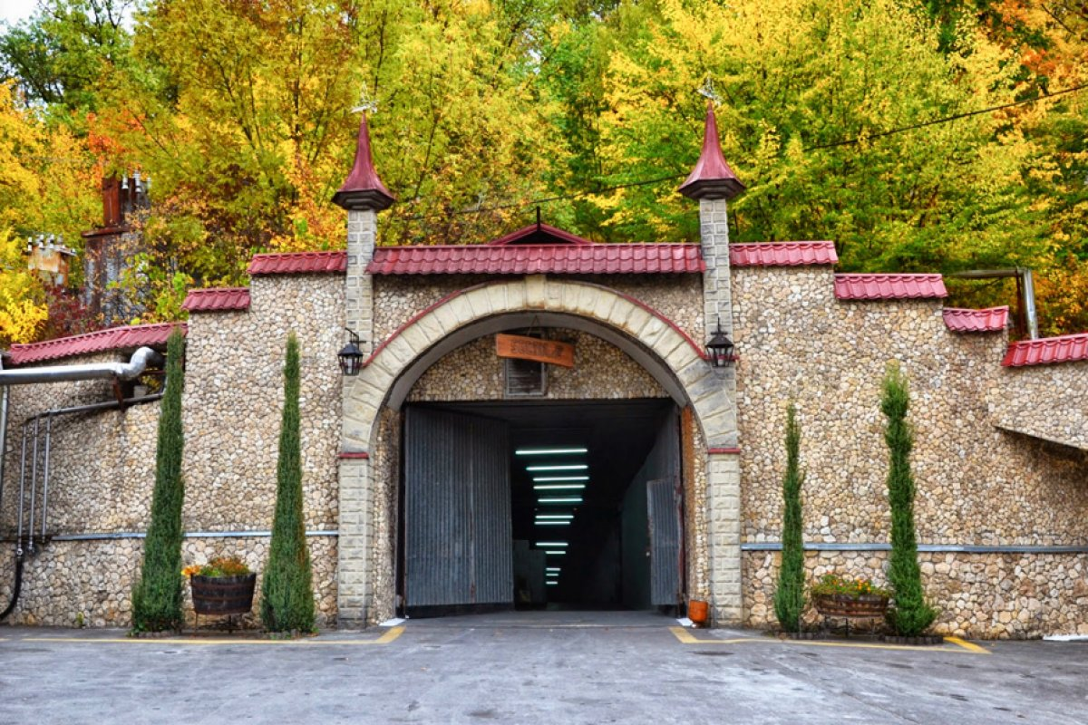 Branesti Winery and Stone Age cave restaurant