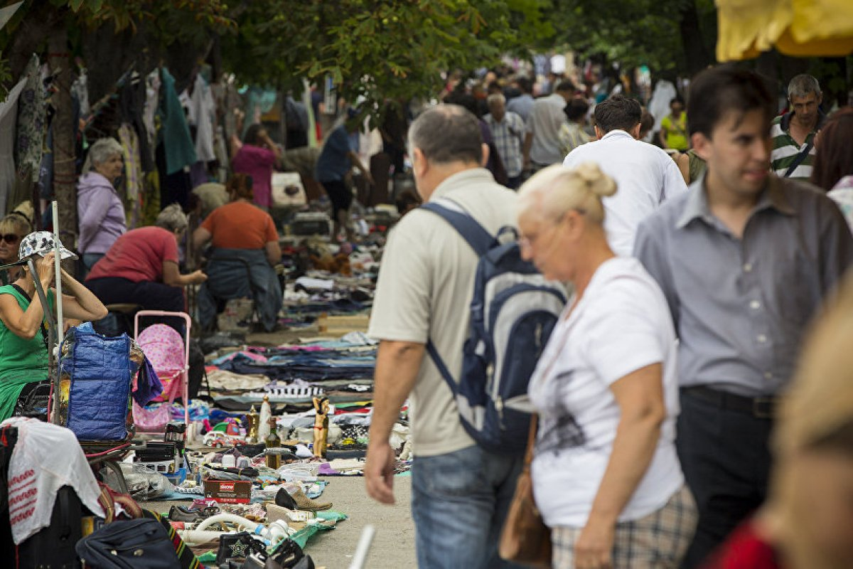 Chisinau Flea Market – Back in time